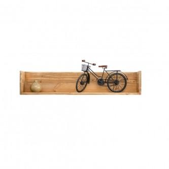 Wall shelf MARTINE  L 100 cm solid wood