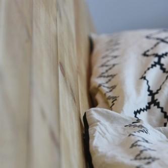 Tête de lit L160 IDA en bois massif