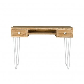 Desk PAULIN 2 drawers solid...