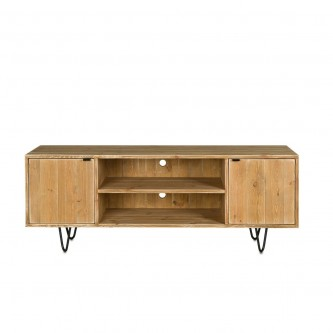 TV stand JULES solid wood...