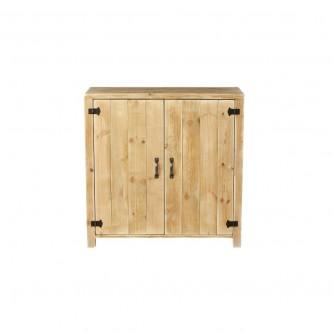 Buffet LEON 2 portes en bois massif