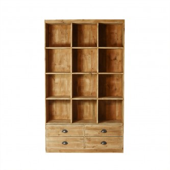 Bookcase 12 cube LUCIE 4...