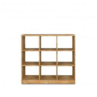Bookcase LISETTE 9 cube...