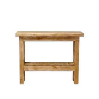 Console table workbench...