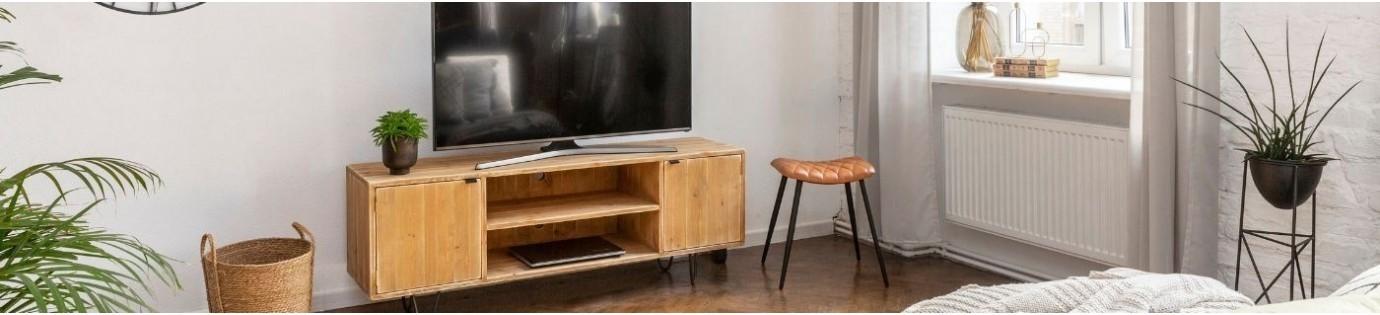Meubles en bois pour un salon cosy et chaleureux | Dendro Design