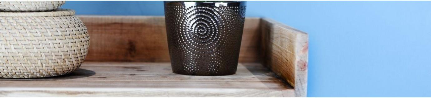 Meubles pour salle de bain en bois massif | Dendro