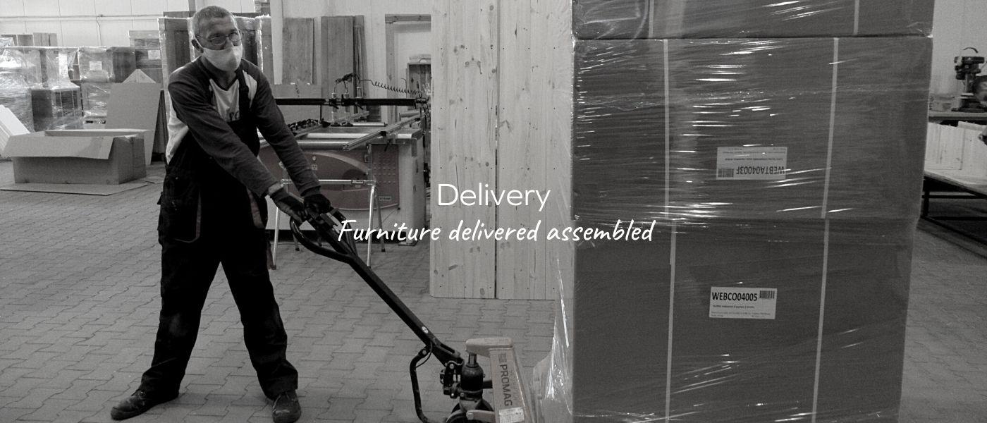 Livraison meubles dendro