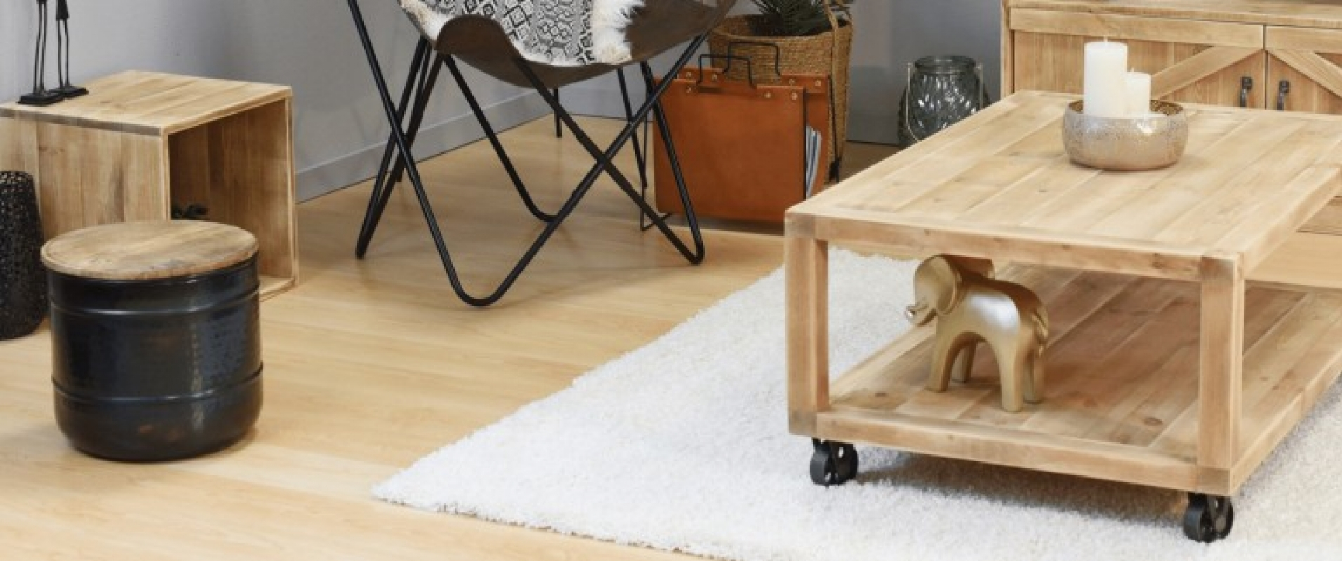 The centerpiece of your living room, the coffee table